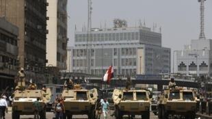 Le Caire, 17 août 2013.