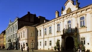 Kosice, le quartier de la vieille ville.