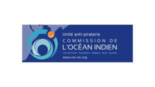 Le logo de l'Unité anti-piraterie (UAP) de la Commission de l'océan Indien (COI).