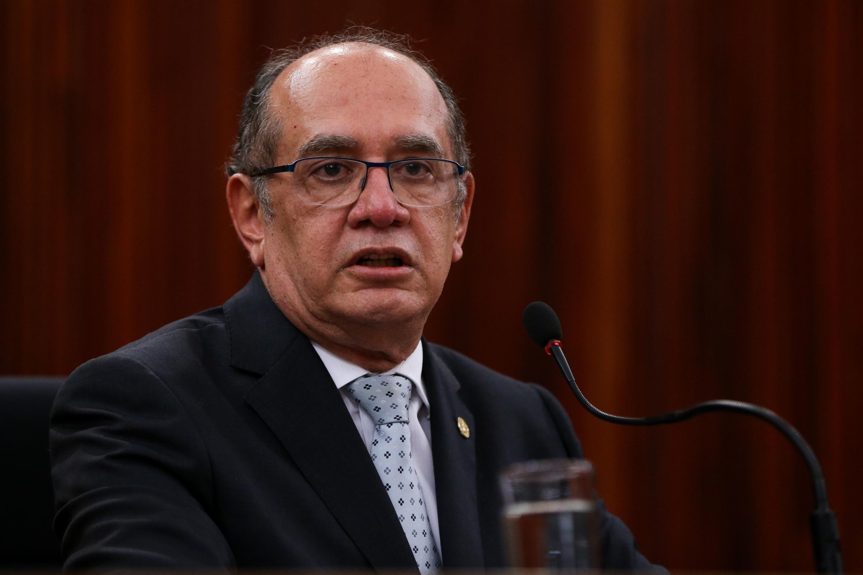 O ministro Gilmar Mendes, do Supremo Tribunal Federal.
