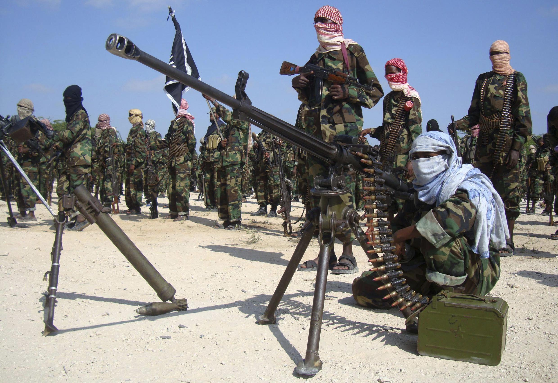 Des shebabs somaliens (photo d'archives).