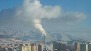 La ville d'Altay, dans la province autonome du Xinjiang, en Chine.