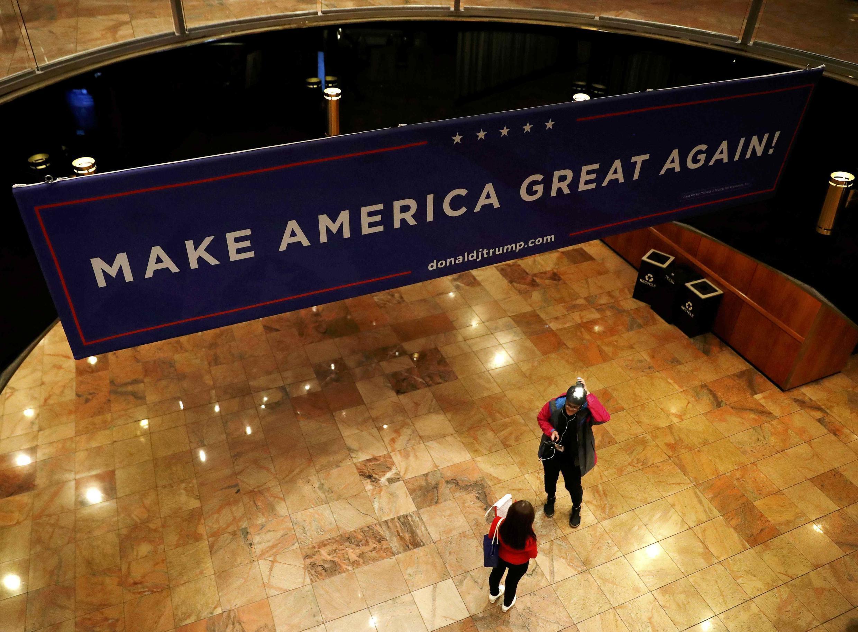 В нью-йоркском штабе Дональда Трампа
