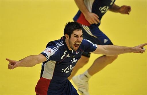 Nikola Karabtic, joueur vedette de l'équipe de France de handball.