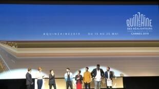 """Equipe de """"Sem Seu Sangue"""" apresenta o filme na estreia mundial na Quinzena dos Realizadores, em Cannes"""