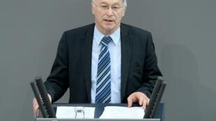 Le député chrétien-démocrate Martin Patzelt a accueilli deux réfugiés érythréens.