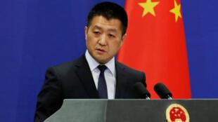 لو کانگ، سخنگوی وزارت امور خارجه چین