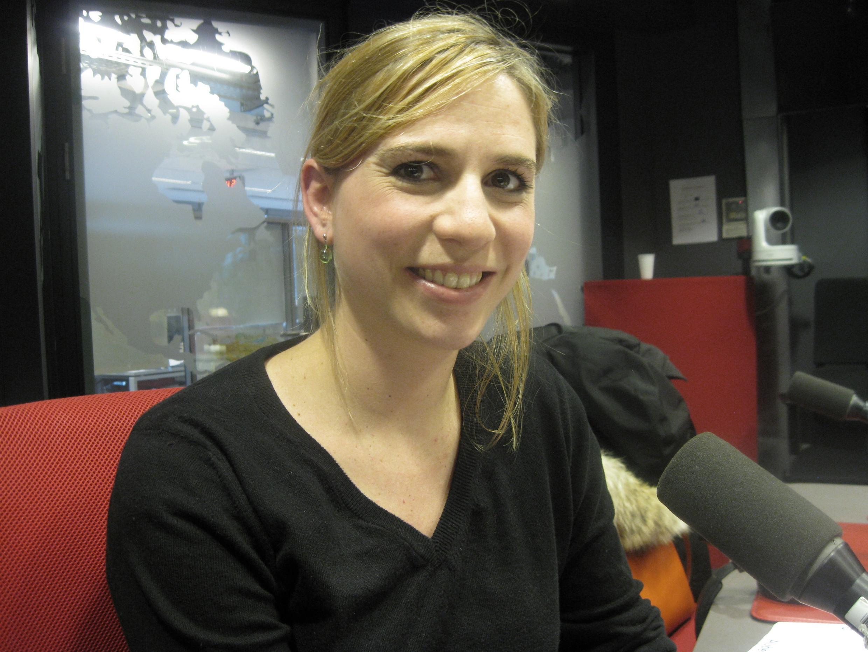 Eloïse Cohen de Timary en los estudios de RFI.