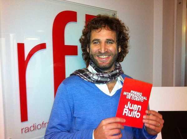 Marcos Crotto, ganador del Premio Internacional de Cuento Juan Rulfo 2011.