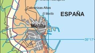 Jihadistas foram detidos no enclave espanhol de Melilla.