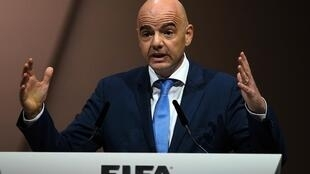 Rais wa Shirikisho la soka duniani FIFA Giani Infatino