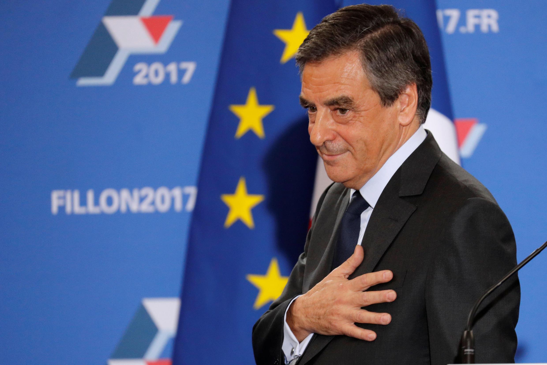 Cựu thủ tướng Francois Fillon sau cuộc bầu cử sơ bộ ngày 27/11/2016.