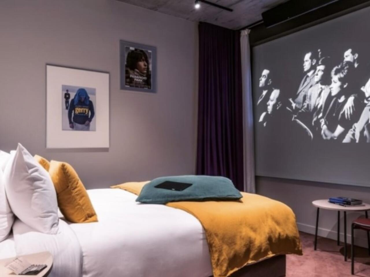 Welcome to the Hotel Paradiso: Europe's first hotel-cinema