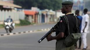 Wani jami'in dan sanda a jihar Kaduna dake arewacin Najeriya.