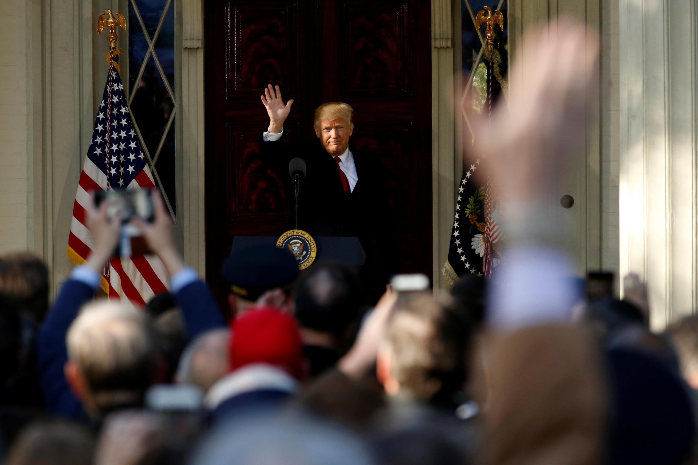 Tổng thống Mỹ Donald Trump. Ảnh chụp tại Nashville, ngày 15/03/2017.