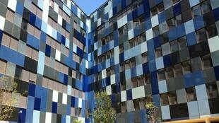 Les façades intérieures de l'hexagone-Balard dévoilées.