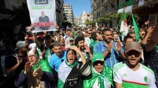 Manifestation à Alger, le 10 mai 2019.