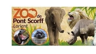 存檔圖片 Image d'archive: Rewild est une association qui regroupe sept ONG, qui a racheté le zoo de Pont Scorff, en Bretagne.