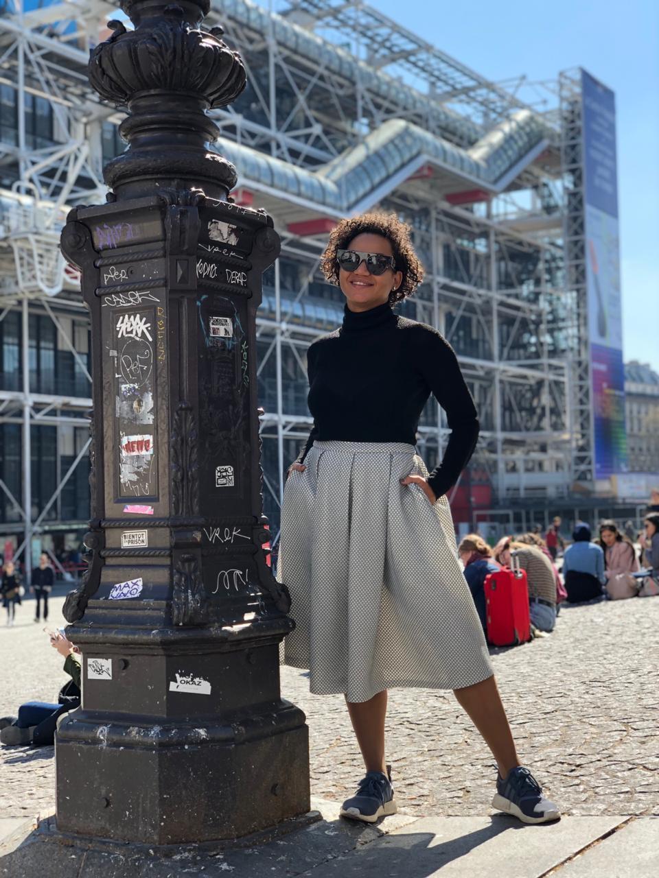 Designer de moda Rose Palhares