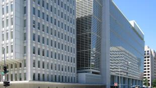 Le siège de la Banque mondiale à Washington, Etats-Unis.