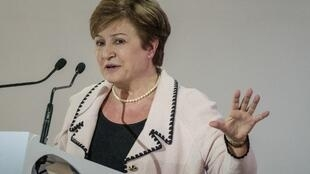 'Yar takarar neman shugabancin asusun bada lamuni na duniya IMF Kristalina Georgieva