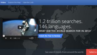 Zeitgeist permet de connaître les temps forts d'internet au cours de l'année écoulée.