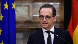 德国外长马斯周一起展开对中国的访问