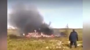 一架直升机在西伯利亚坠毁18人遇难2018年8月4日