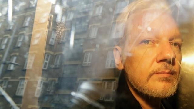 拜登政府上诉 重申要引渡阿桑奇(photo:RFI)