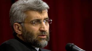 سعید جلیلی، دبیر شورای عالی امنیت ملی و مسئول پروندۀ هسته ای ایران