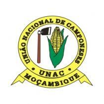Logótipo da UNAC, União de Camponeses em Moçambique.