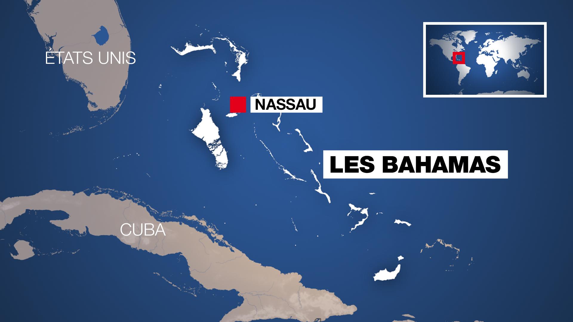 L'archipel des Bahamas.