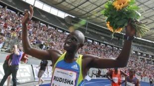 O queniano David Rudisha.