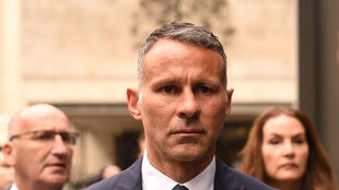 Wales manager and former Manchester United star Ryan Giggs leaves Manchester Crown Court