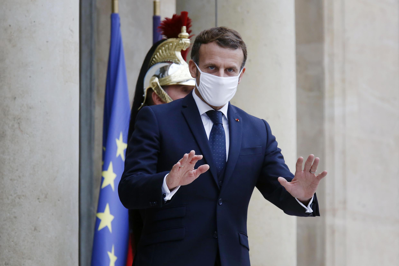 PHOTO Emmanuel Macron - 28 octobre 2020