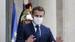 PHOTO Emmanuel Macron - 28 octobre 2020