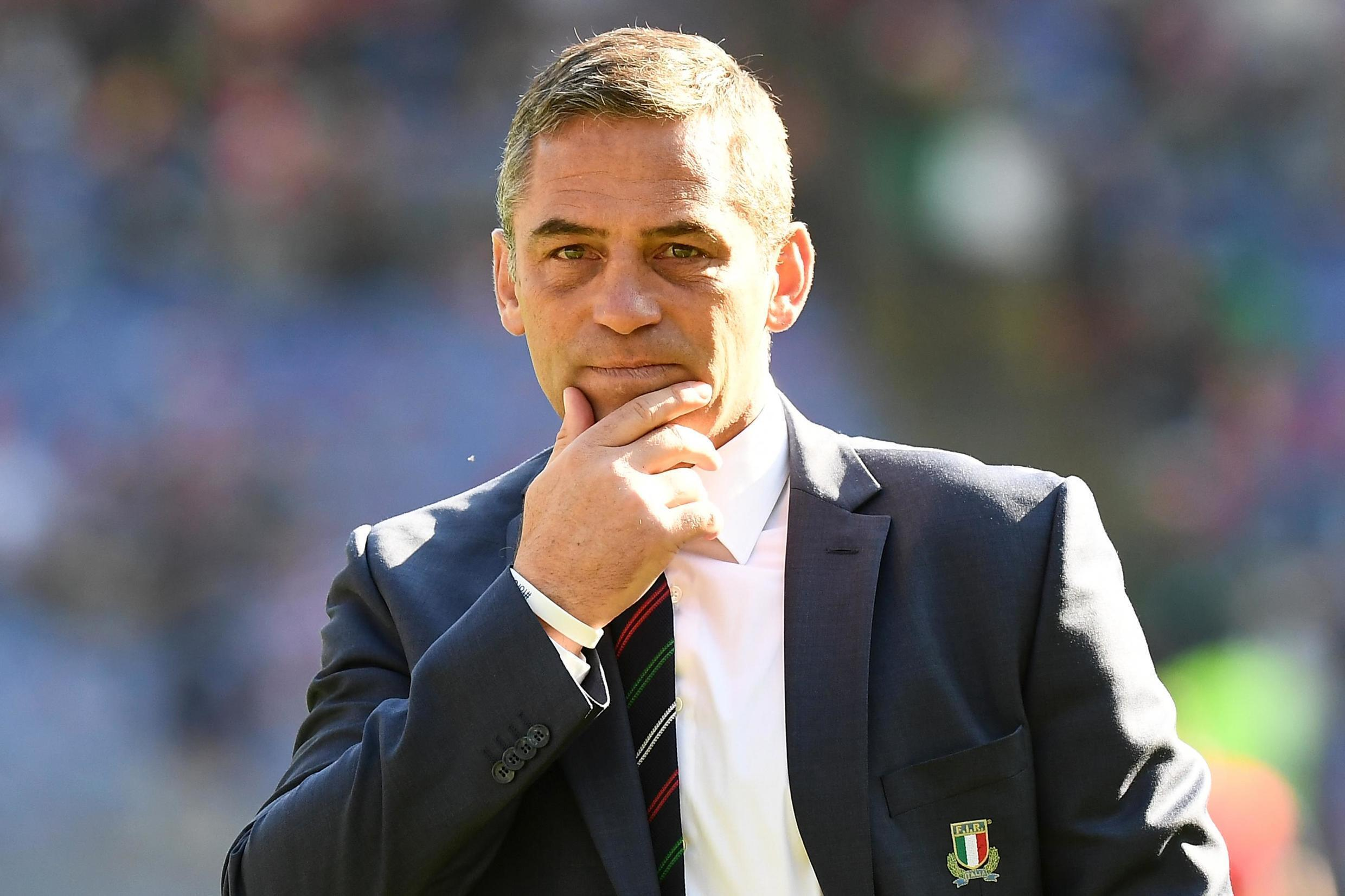 Franco Smith took over as Italy's rugby union coach in November 2019.