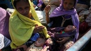 Réfugiées rohingyas en 2017 (image d'illustration).