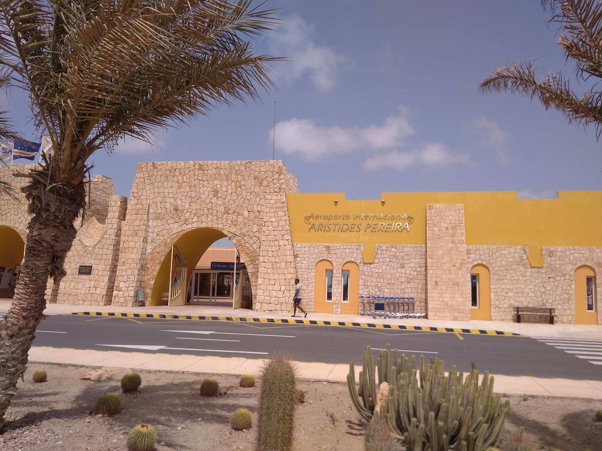 Aeroporto da Boa Vista, Cabo Verde