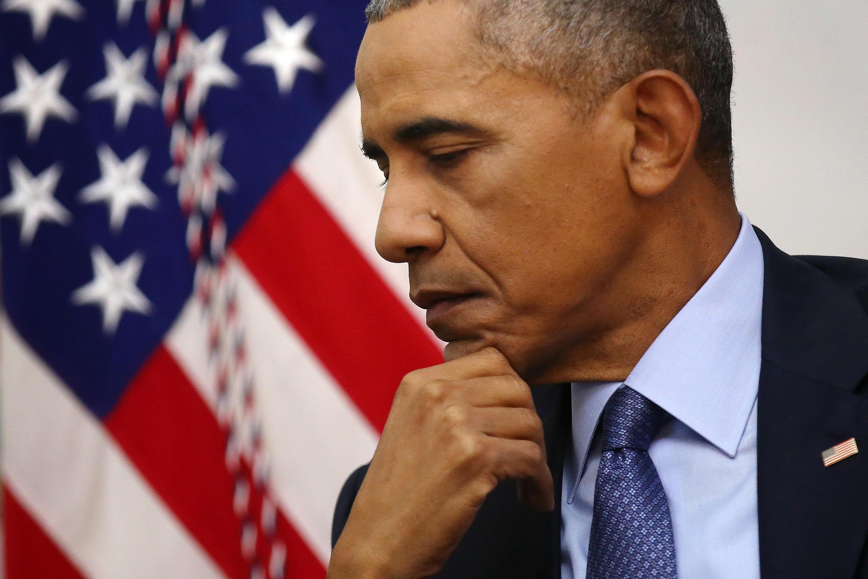Barack Obama en Washington, el pasado 6 de enero de 2017.