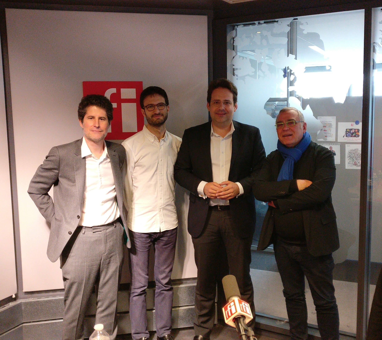 Giuliano da Empoli , Fabien Escalona , Matthias Fekl , Daniel Desesquelle.