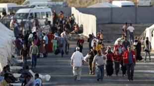 Plus de 1 500 civils syriens sont arrivés sur le sol turc le jeudi 23 juin 2011.