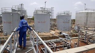 Power plant of an oil processing facility in Unity State; South Sudan produces 350,000 barrels a day of crude.