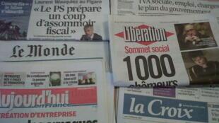Desemprego é a palavra-chave das presidenciais em França