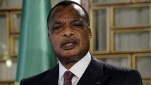 Shugaban Congo Brazaville Denis Sassou Nguesso wanda ya shafe shekaru 36 yana mulkin kasar.