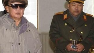 朝鲜最高领导人金正日