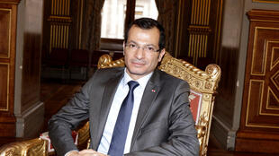Rami Adwan, ambassadeur du Liban en France, avril 2018.
