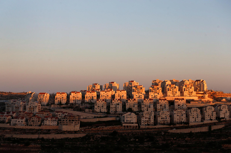 La colonie d'Efrat, en Cisjordanie, le 7 février 2017.
