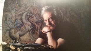 Abbas Moayeri, miniaturiste, peintre et sculpteur iranien