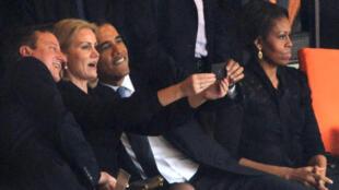 Un selfie en compagnie d'Obama ? C'était trop tentant semble-t-il...
